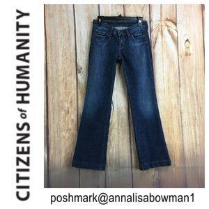 💙COH Laetitia Low Waist Wide Leg jean size 26